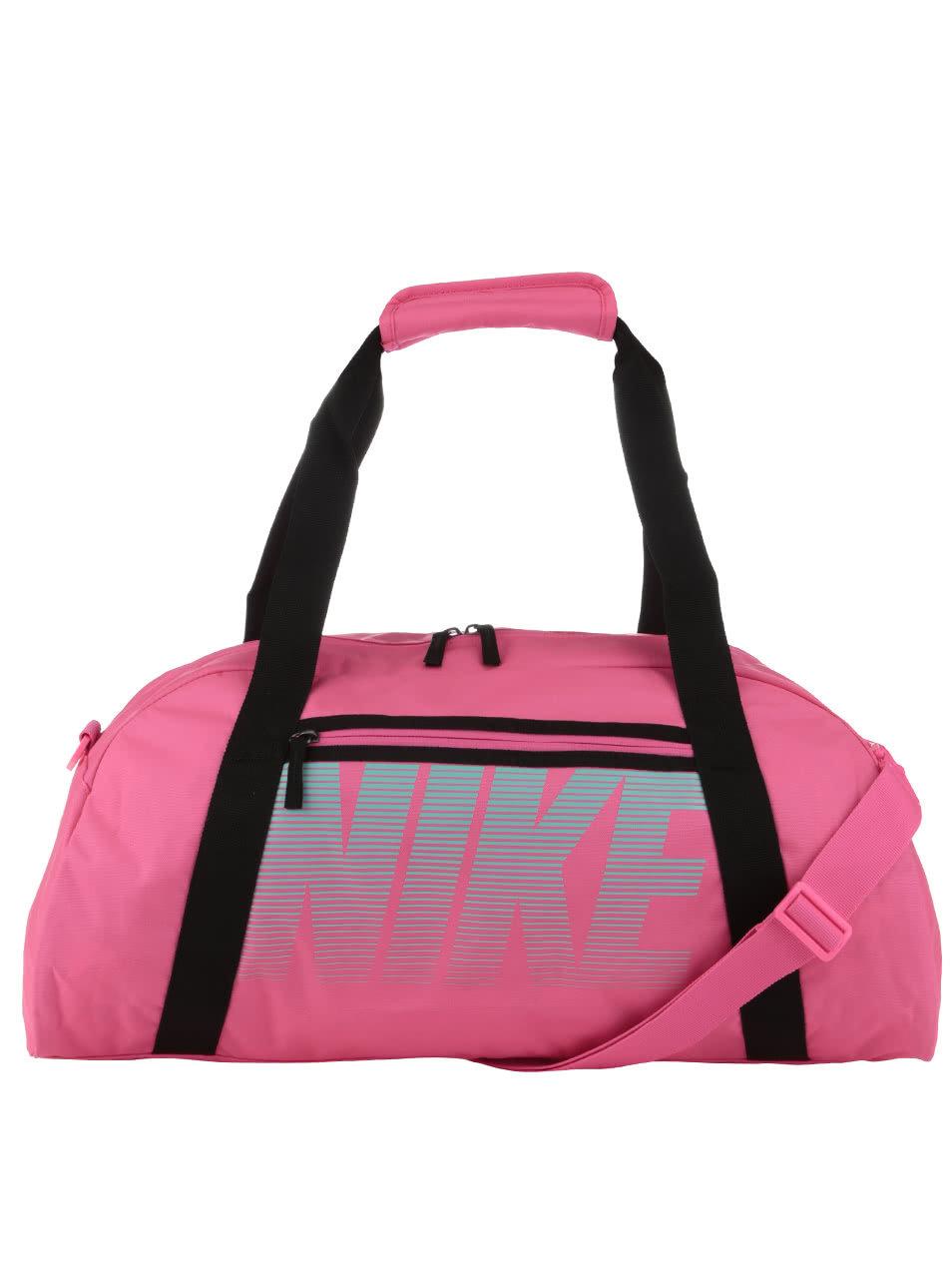Neonově růžová sportovní taška Nike ... d8f03685840