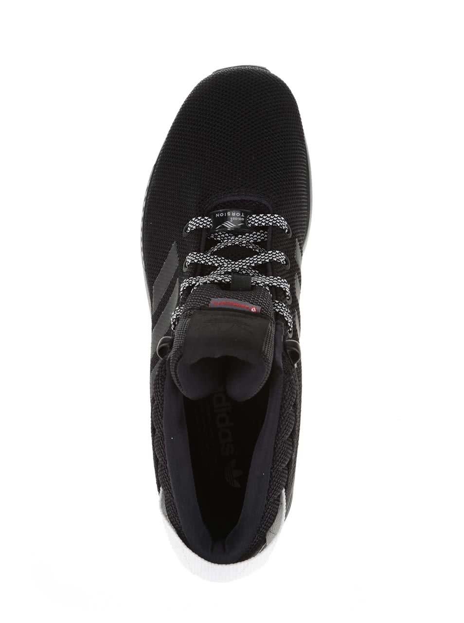 96ee321bd88 Černé pánské kotníkové tenisky adidas Originals ZX Flux 5 8 ...