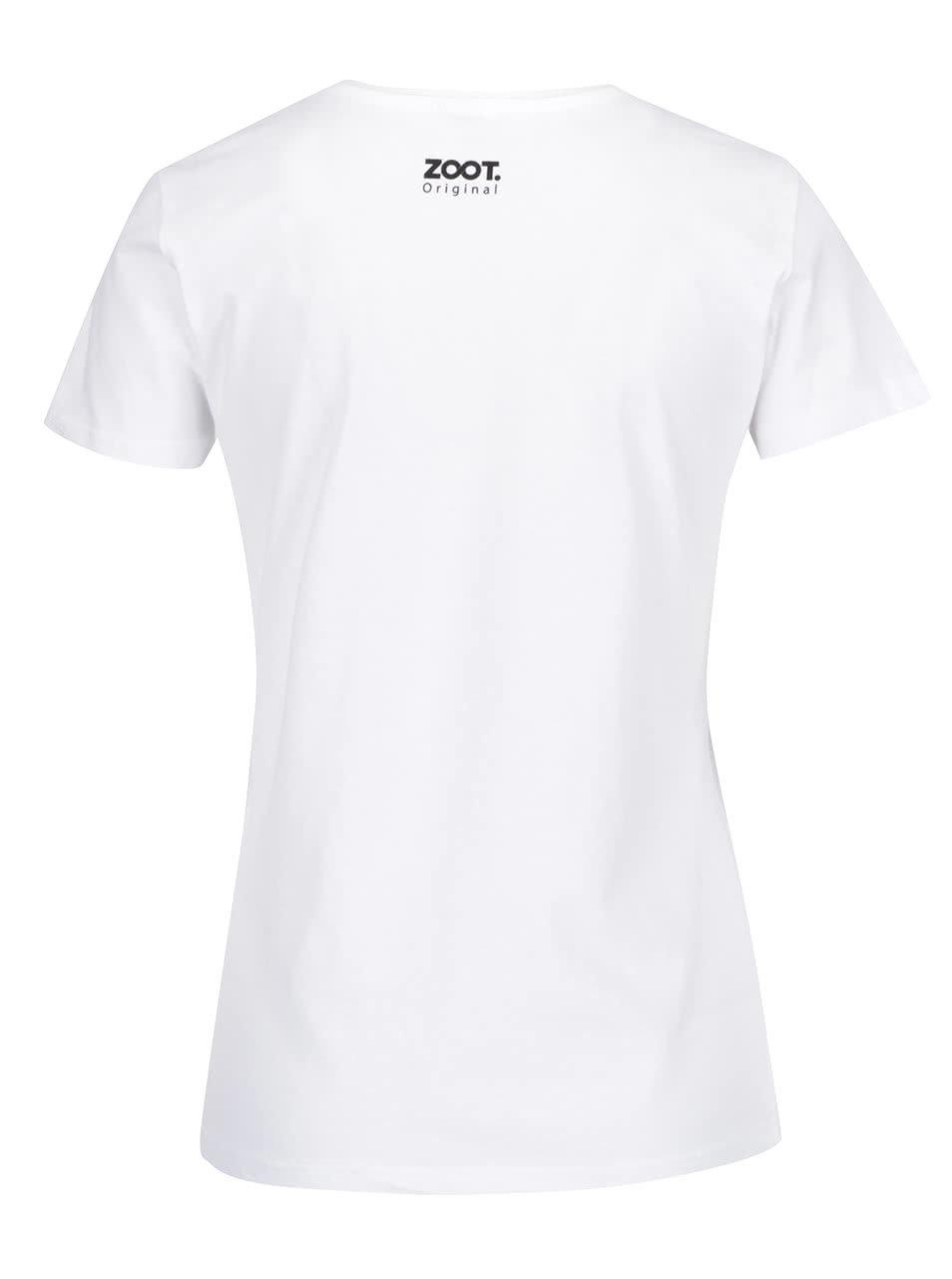 774890ce46a4 Biele dámske tričko s potlačou ZOOT Originál I Love Maminka ...