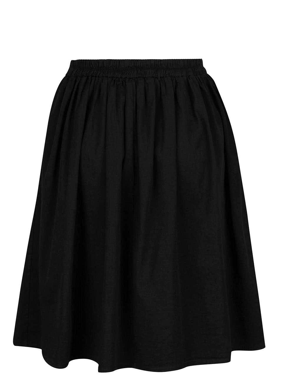 Černá skládaná sukně ZOOT ... 5f3e496fbe
