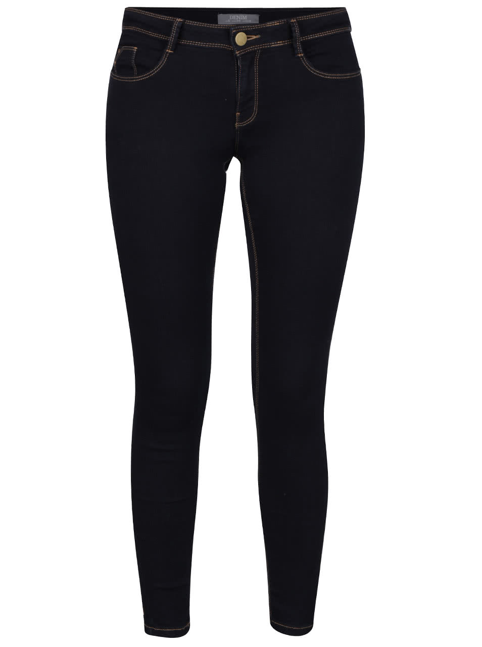 Tmavě modré elastické skinny džíny Dorothy Perkins ... 45b39eca0d