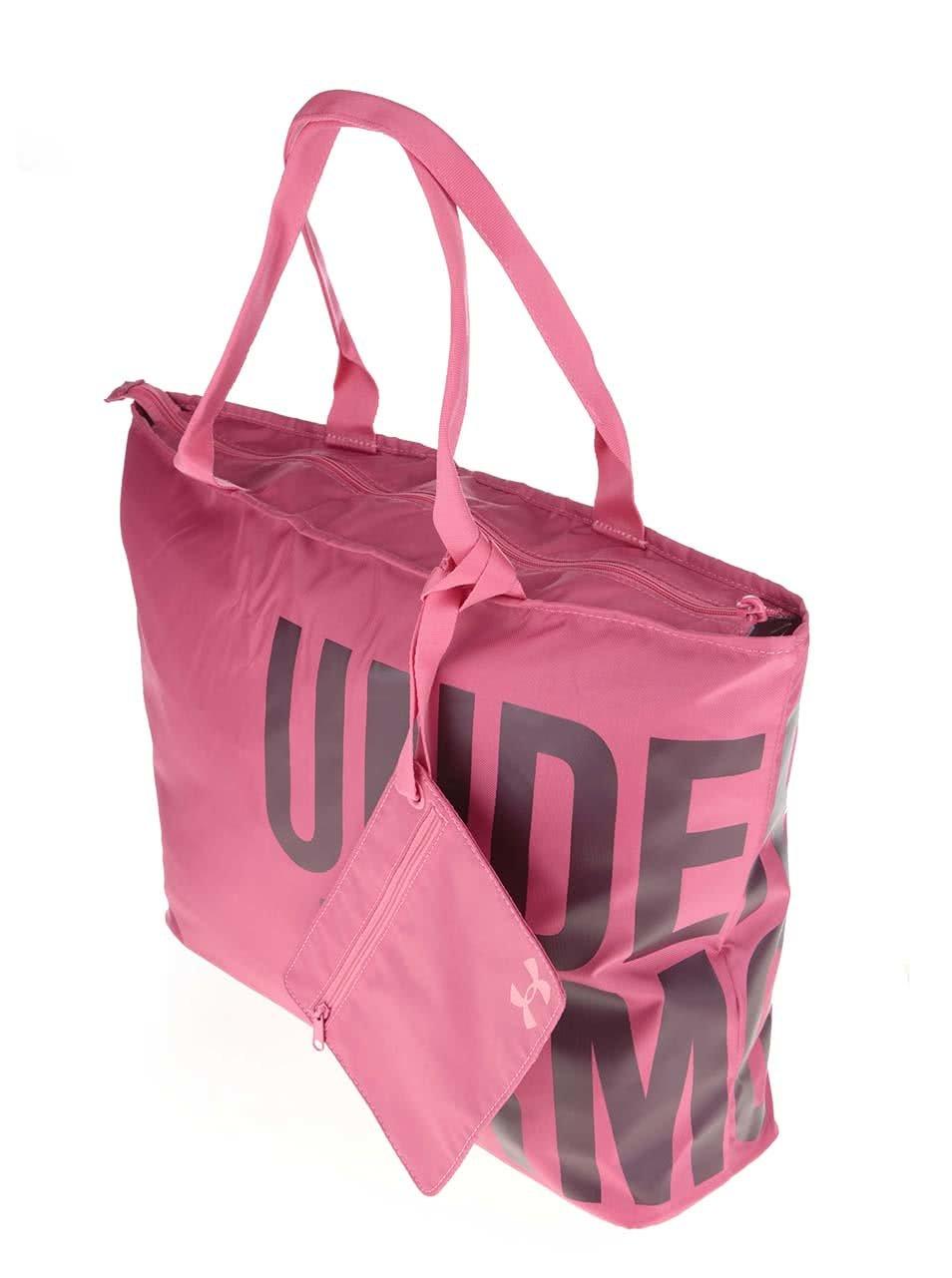Ružová dámska športová taška Under Armour Big World ... 32cb0e2d60d