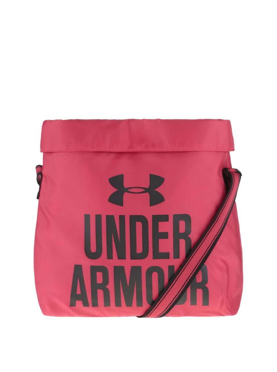 Růžová dámská menší sportovní taška Under Armour ... 2b414590f56