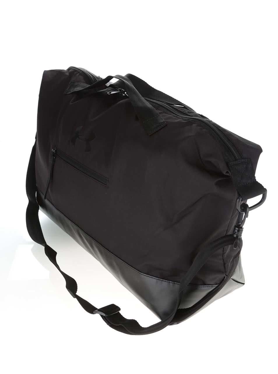 Čierna unisex športová taška Under Armour On The Run Weekender ... de0bbf56b4e