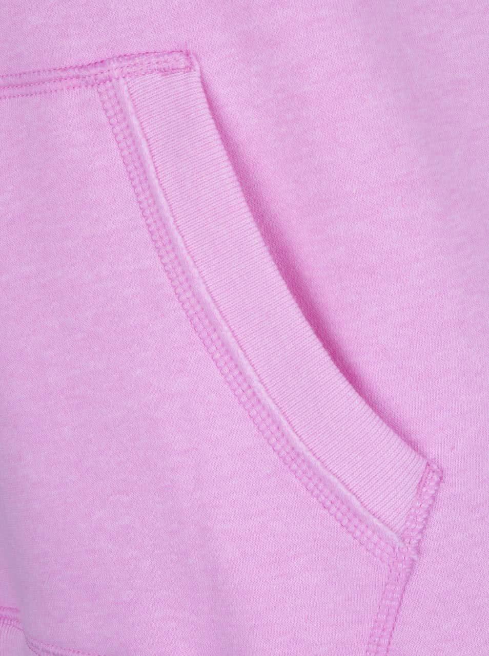Růžová dámská mikina Under Armour Favorite Fleece WM Popover ... 575c920b39