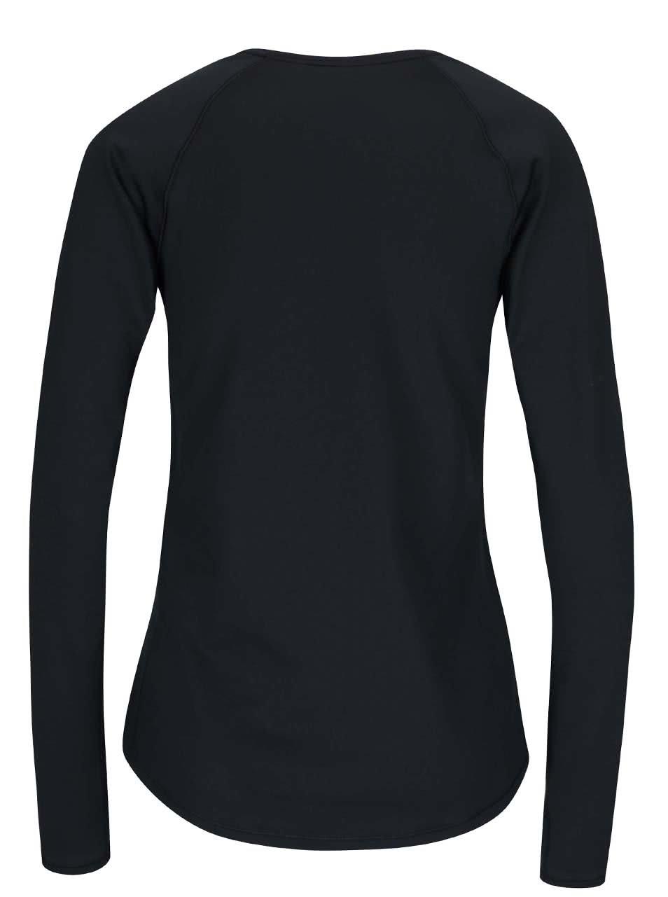 e1e5a46eb857 Čierne dámske funkčné tričko s dlhým rukávom Under Armour ColdGear Armour  Crew ...