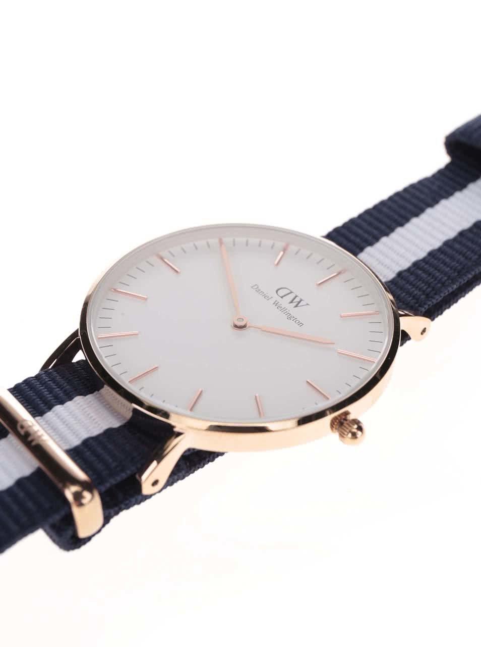 dabfea73e44 Dámské hodinky ve zlaté barvě CLASSIC Glasgow Daniel Wellington ...