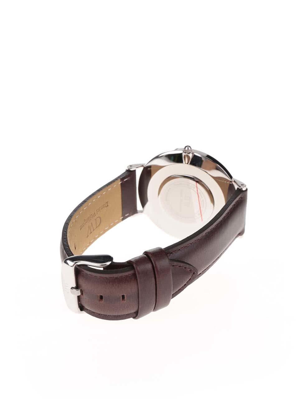 Pánské hodinky ve stříbrné barvě CLASSIC Bristol Daniel Wellington ... 1d2dbc541c