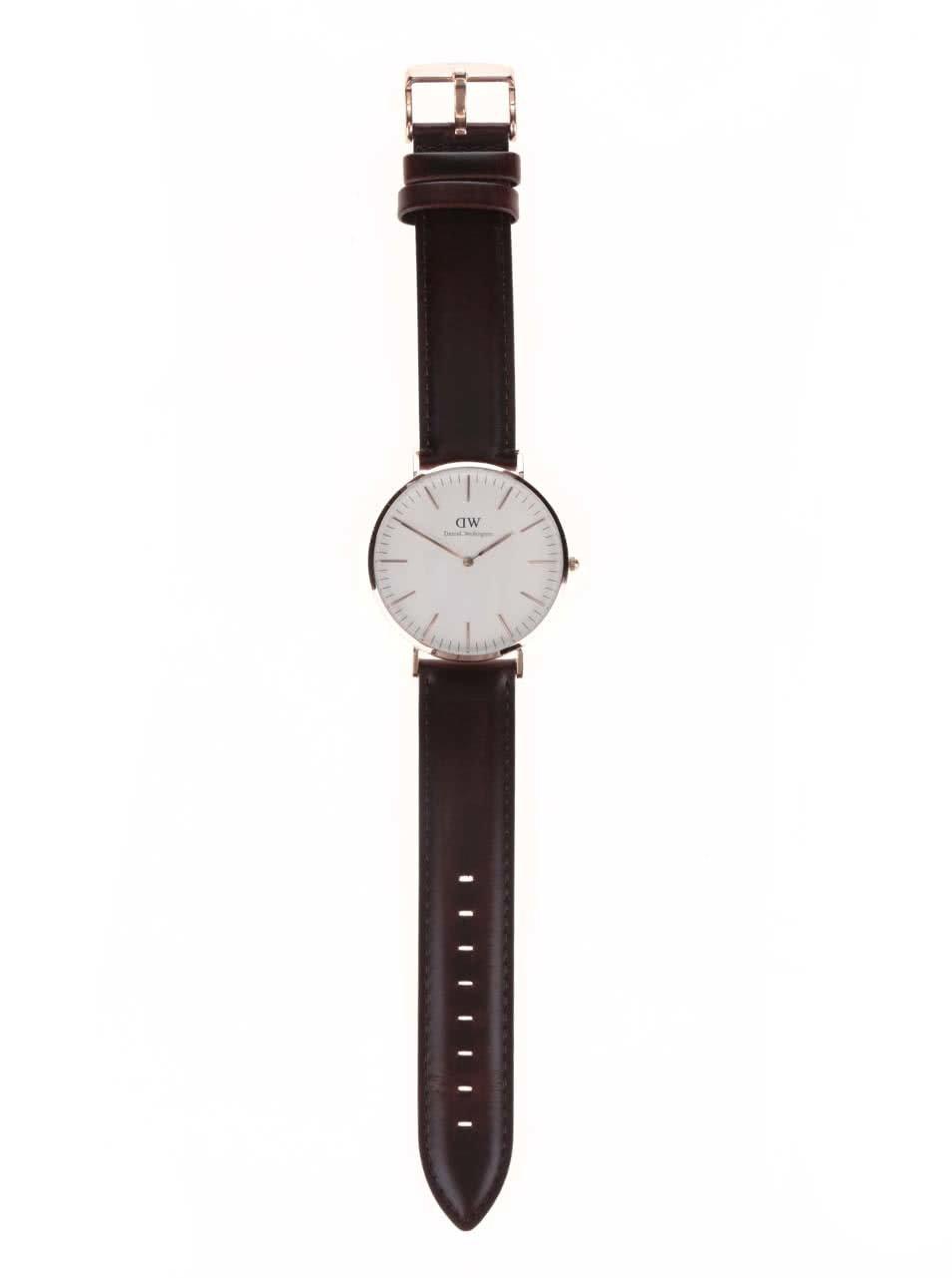 022a7bdac1e Pánské hodinky ve zlaté barvě CLASSIC Bristol Daniel Wellington ...