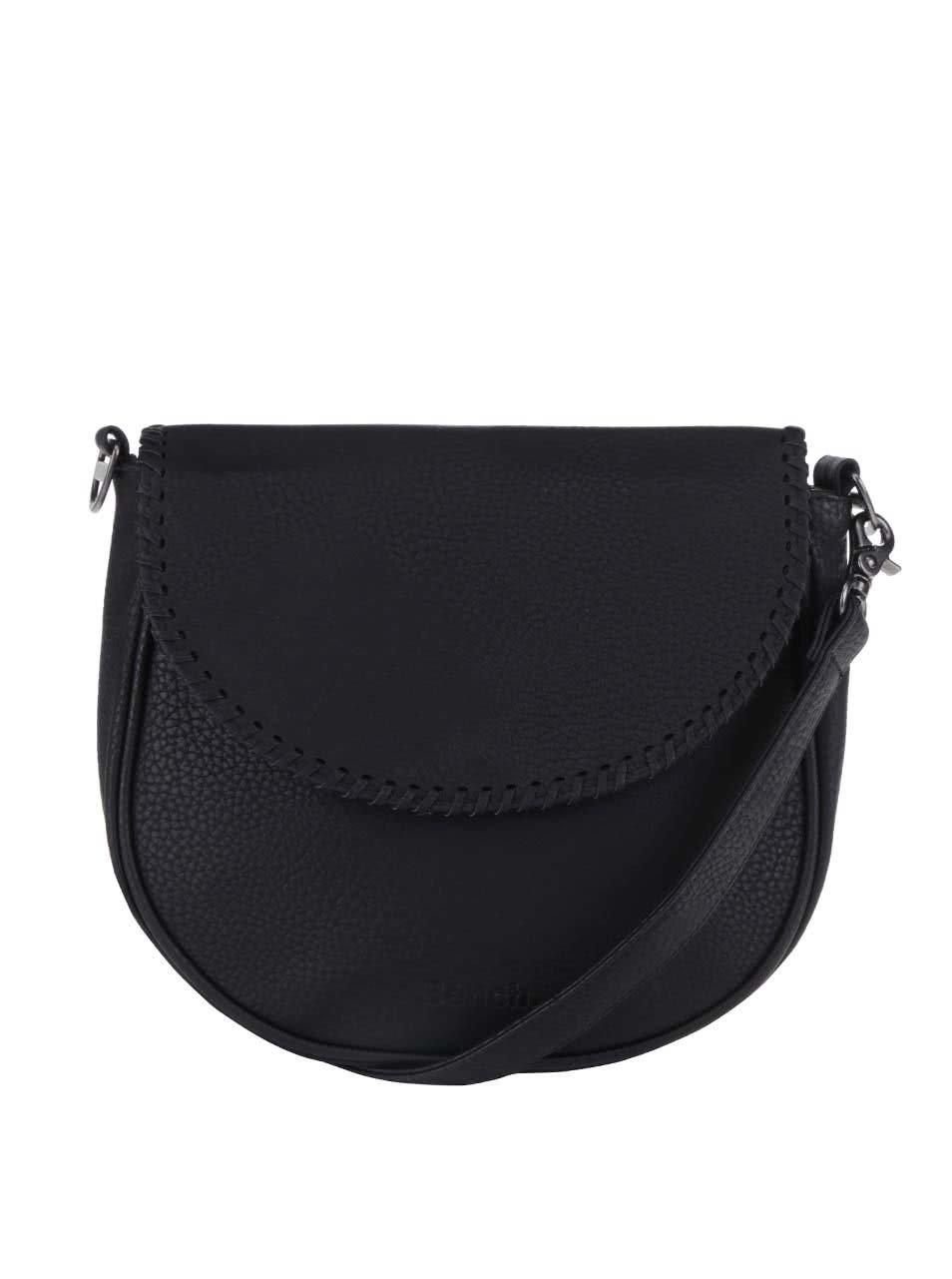 Čierna menšia crossbody kabelka Bench Masterpiece ... b45f89b7d3d