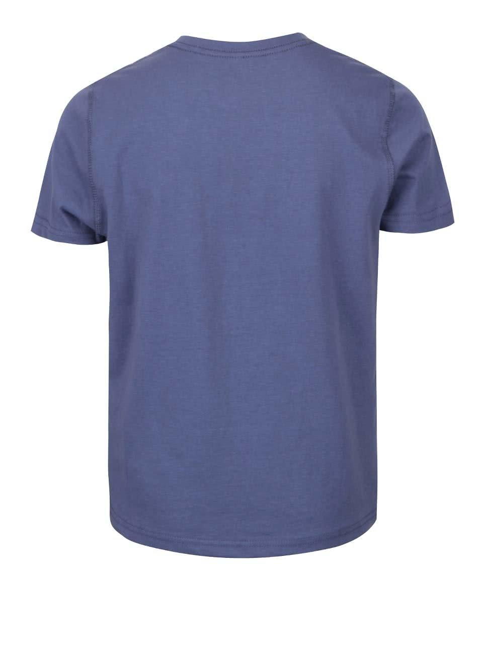 f112476d229a Modré chlapčenské triko s krátkym rukávom a potlačou name it Mattis ...