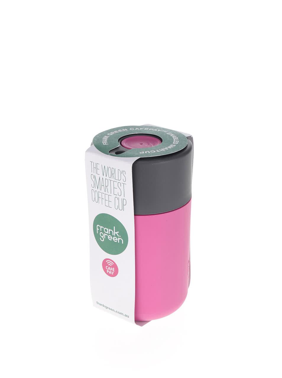 b660326c0 Ružový SmartCup so sivým viečkom Frank Green 340 ml | ZOOT.sk