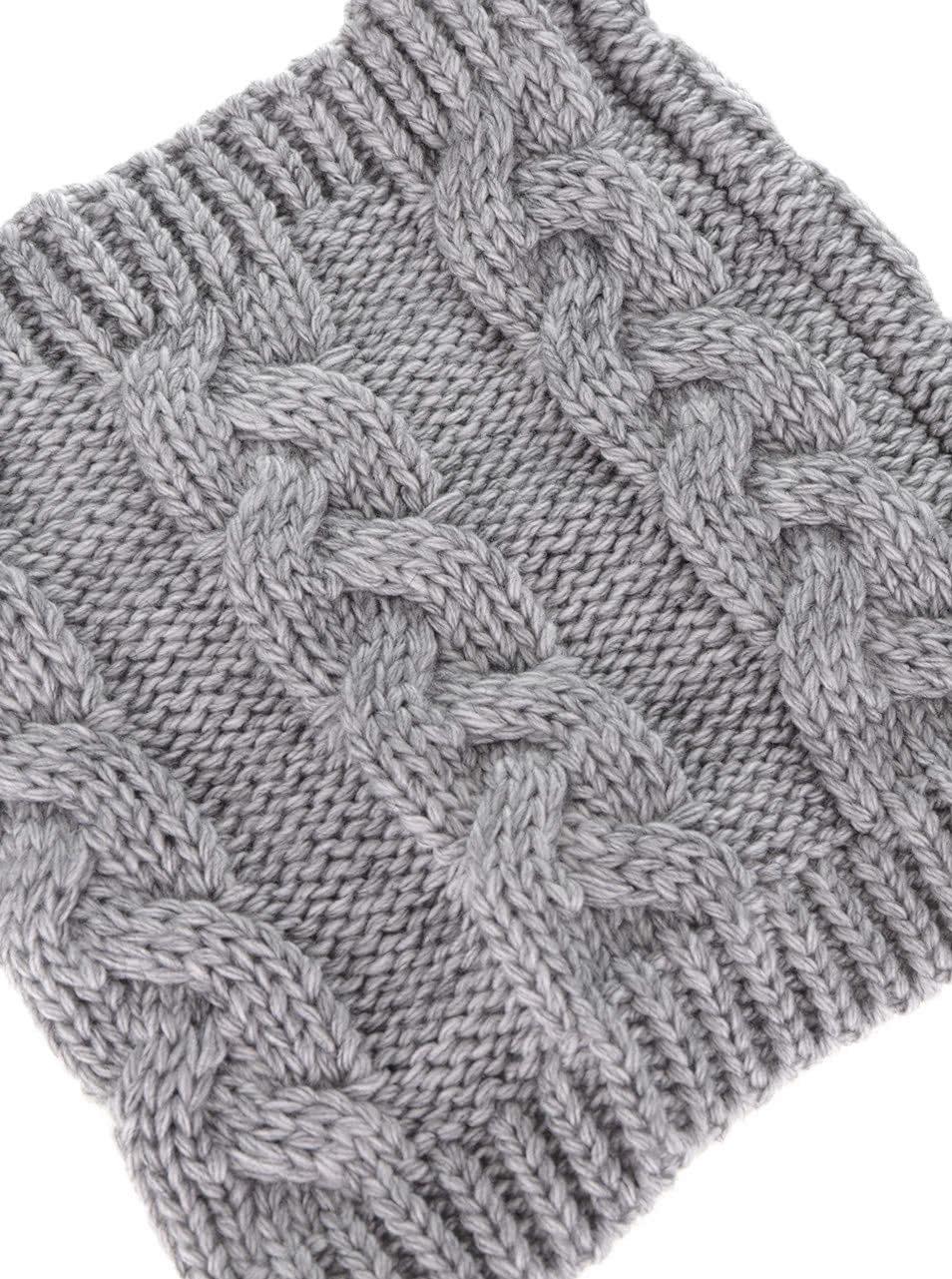 Šedá holčičí dutá pletená šála 5.10.15.  9c58b85e0c