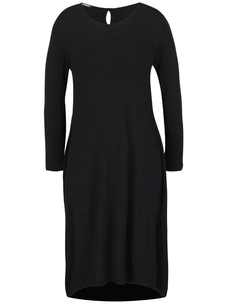 Černé volnější midi šaty ZOOT ... 415875114b
