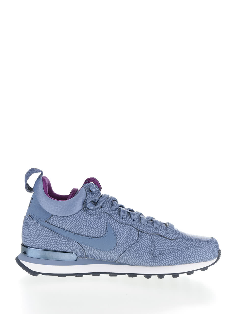 b55810c51e7 Modré kožené dámské kotníkové tenisky Nike Internationalist Mid Leather ...