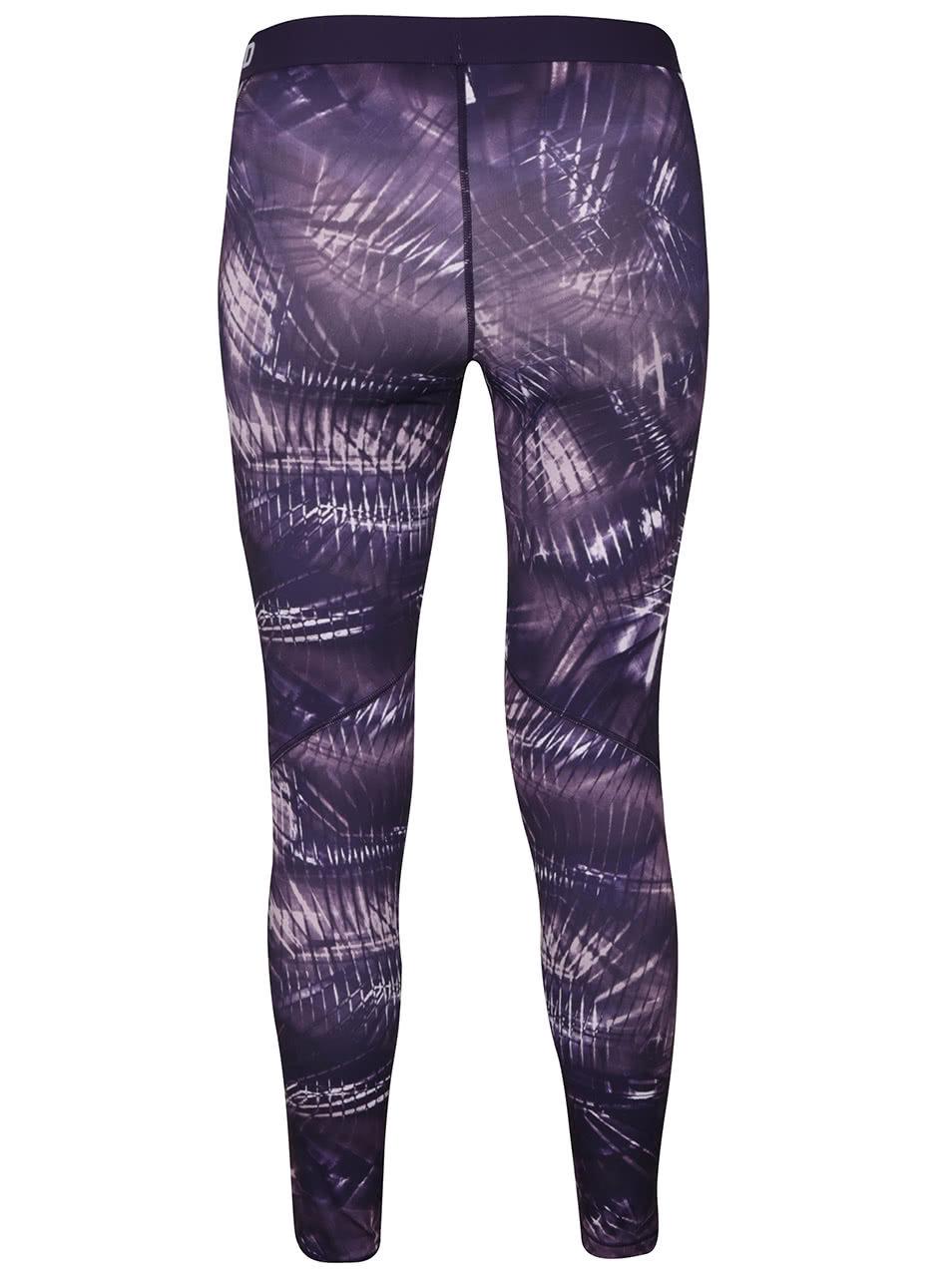Fialové dámské legíny Nike Pro Warm Tight ... 953dfd43ba