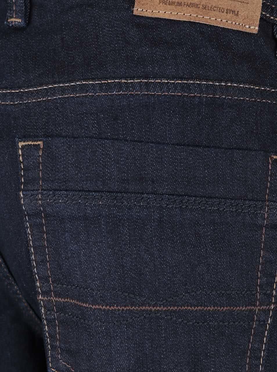 Tmavě modré pánské džíny bugatti ... fd6164ca3a