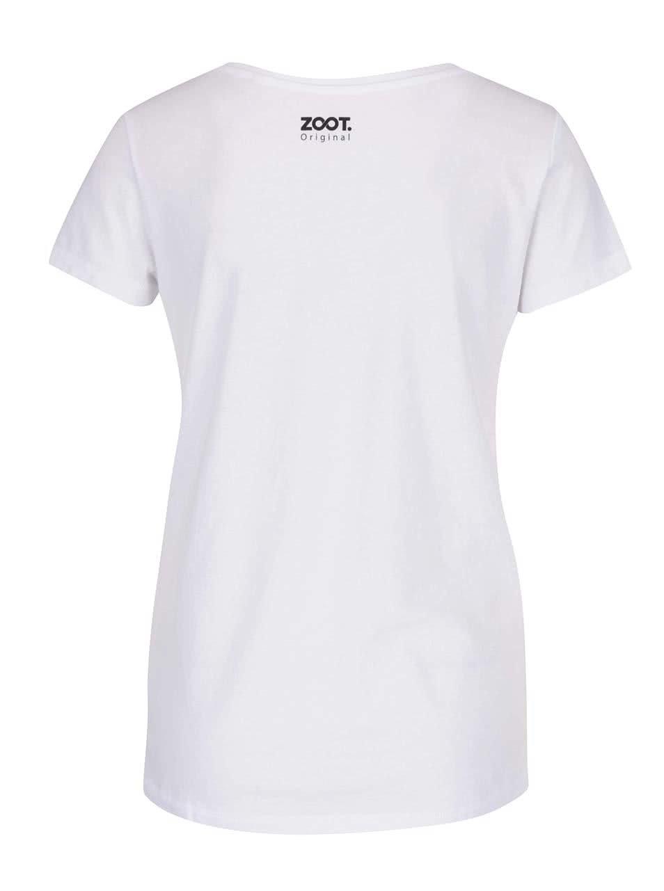 Bílé dámské tričko ZOOT Originál Snídaně u Tiffanyho