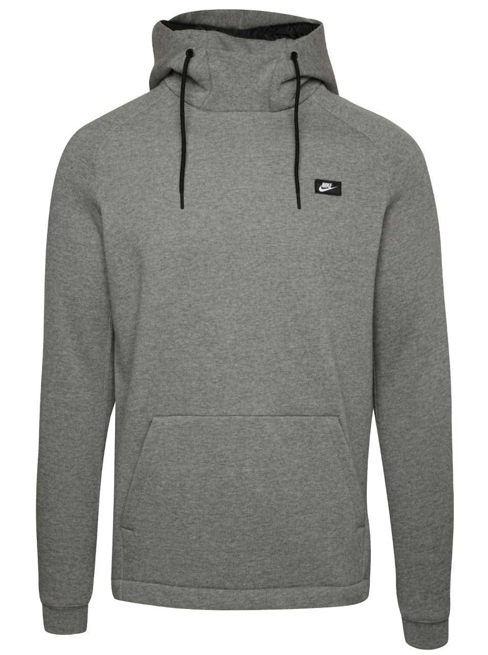 Šedá pánská mikina s kapucí Nike Modern ... 3ff7e34657
