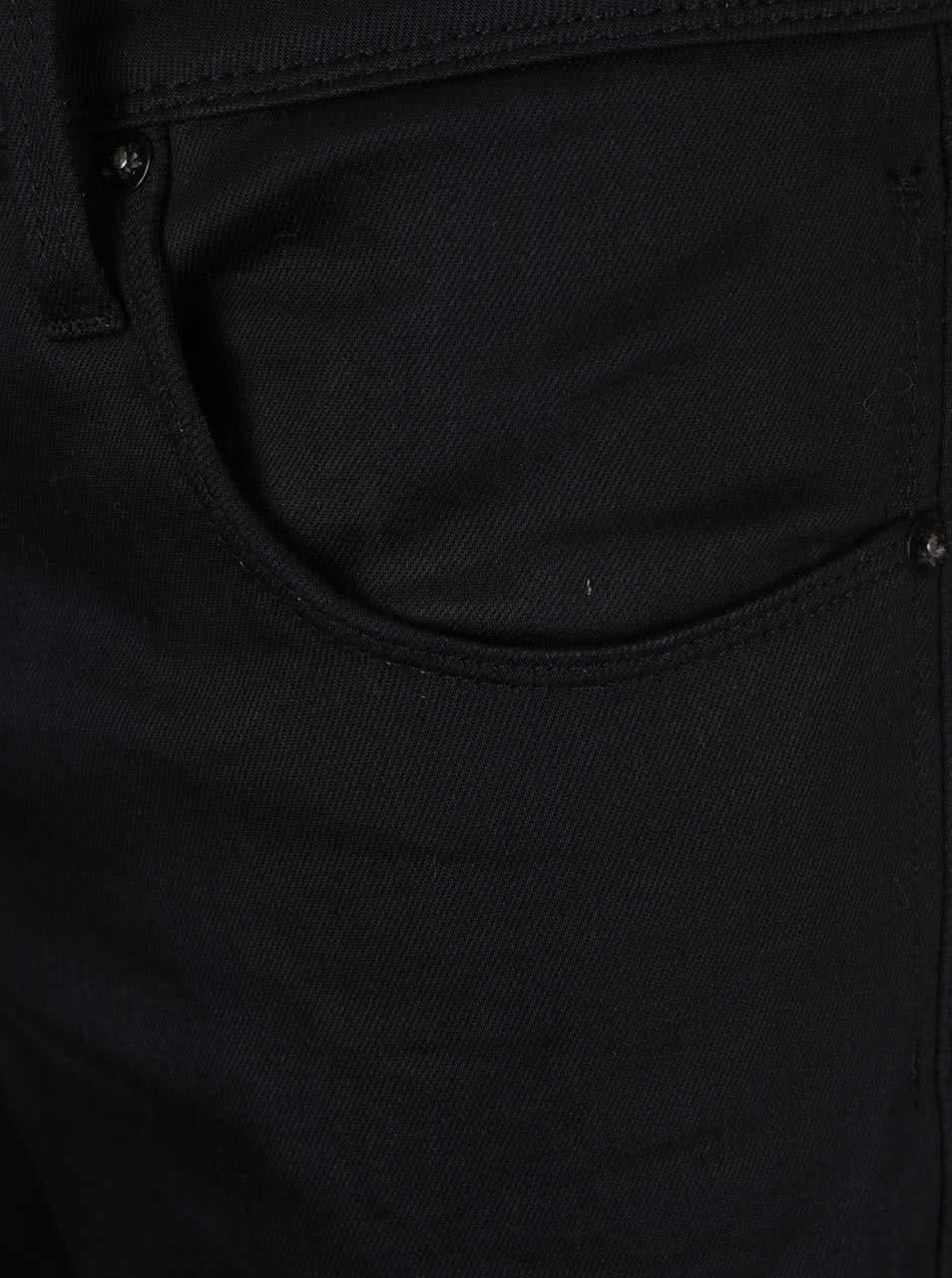 Černé slim-fit džíny Jack & Jones Glenn