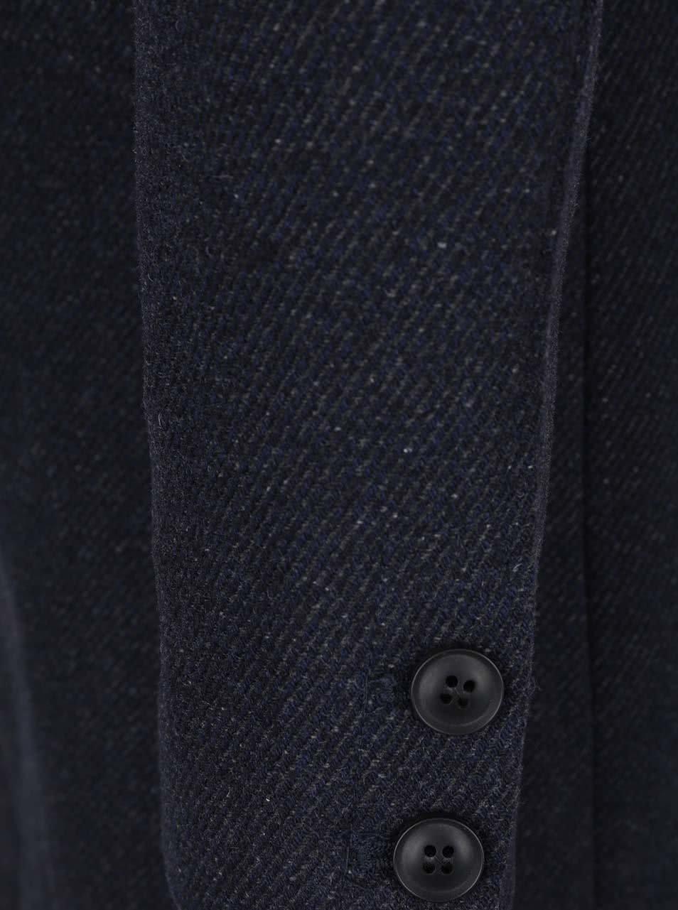 a24da1c76 Tmavomodrý vlnený kabát ONLY & SONS Otto   ZOOT.sk