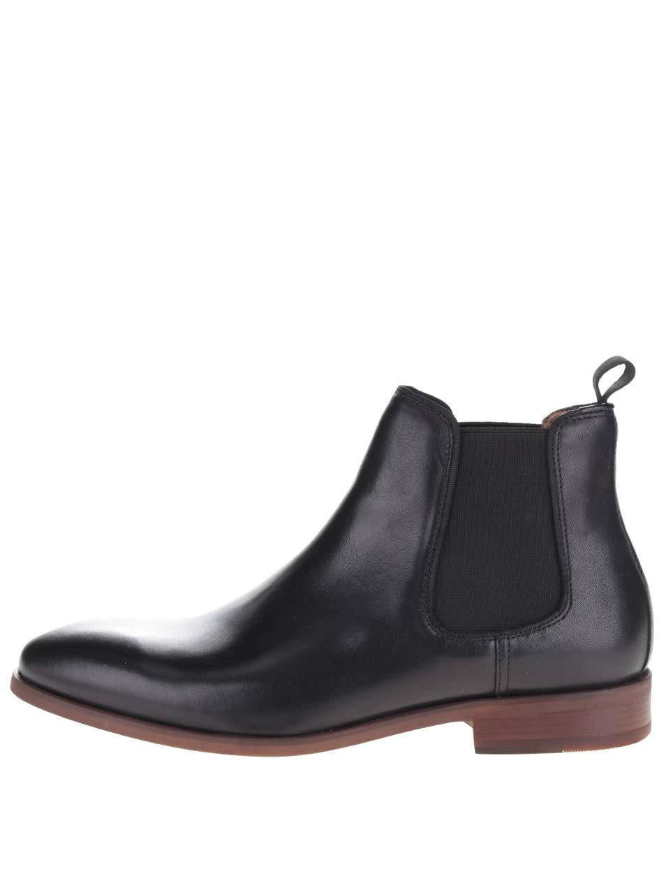 bfebce3014ac3 Čierne pánske kožené chelsea topánky ALDO Croaven   ZOOT.sk