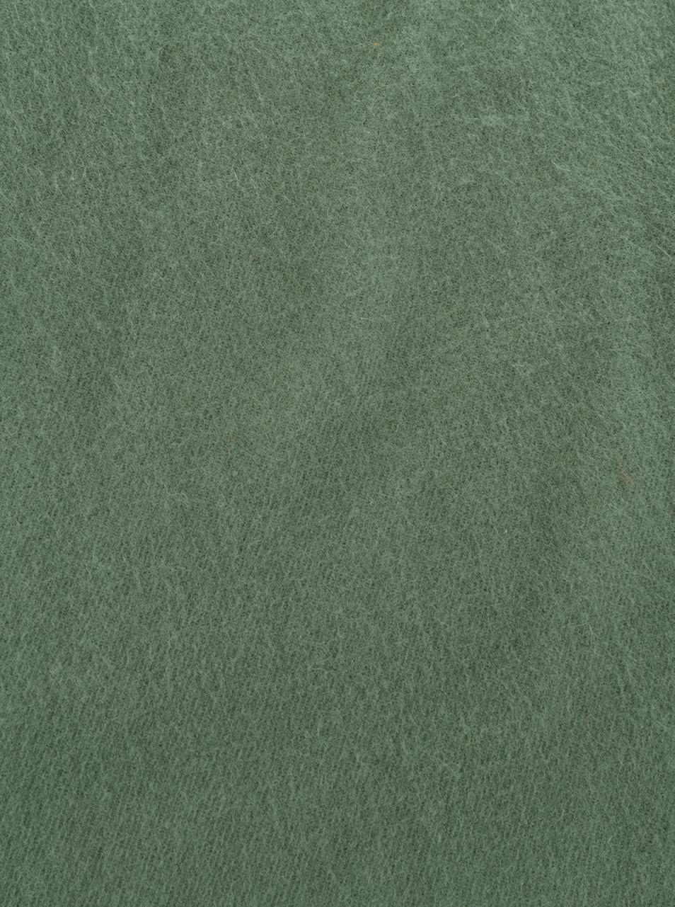 Tmavozelený šál s prímesou vlny Pieces New Eira ... 36dca5df2b