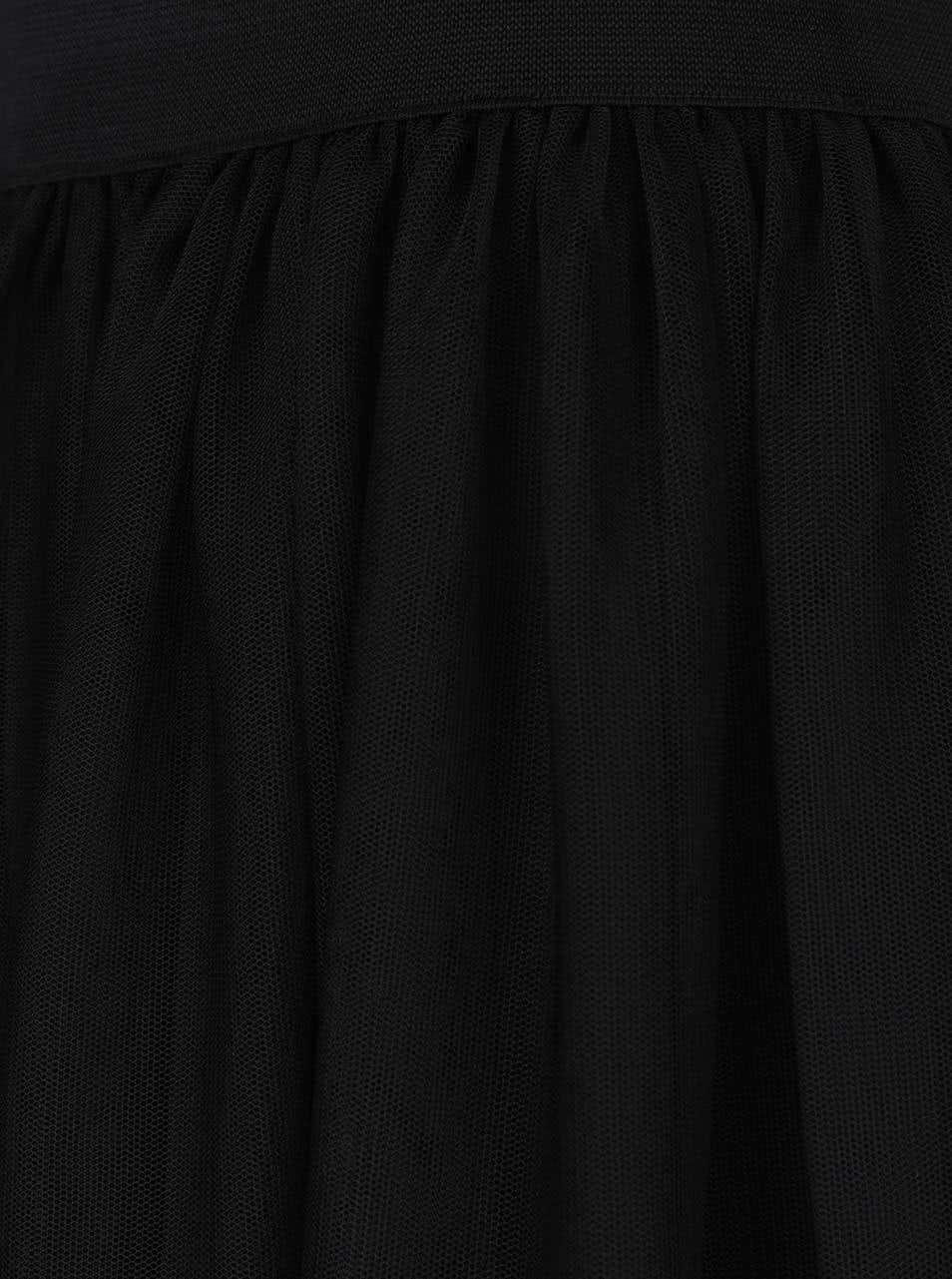 a58f0c523d94 Čierna tylová sukňa ONLY Shell ...