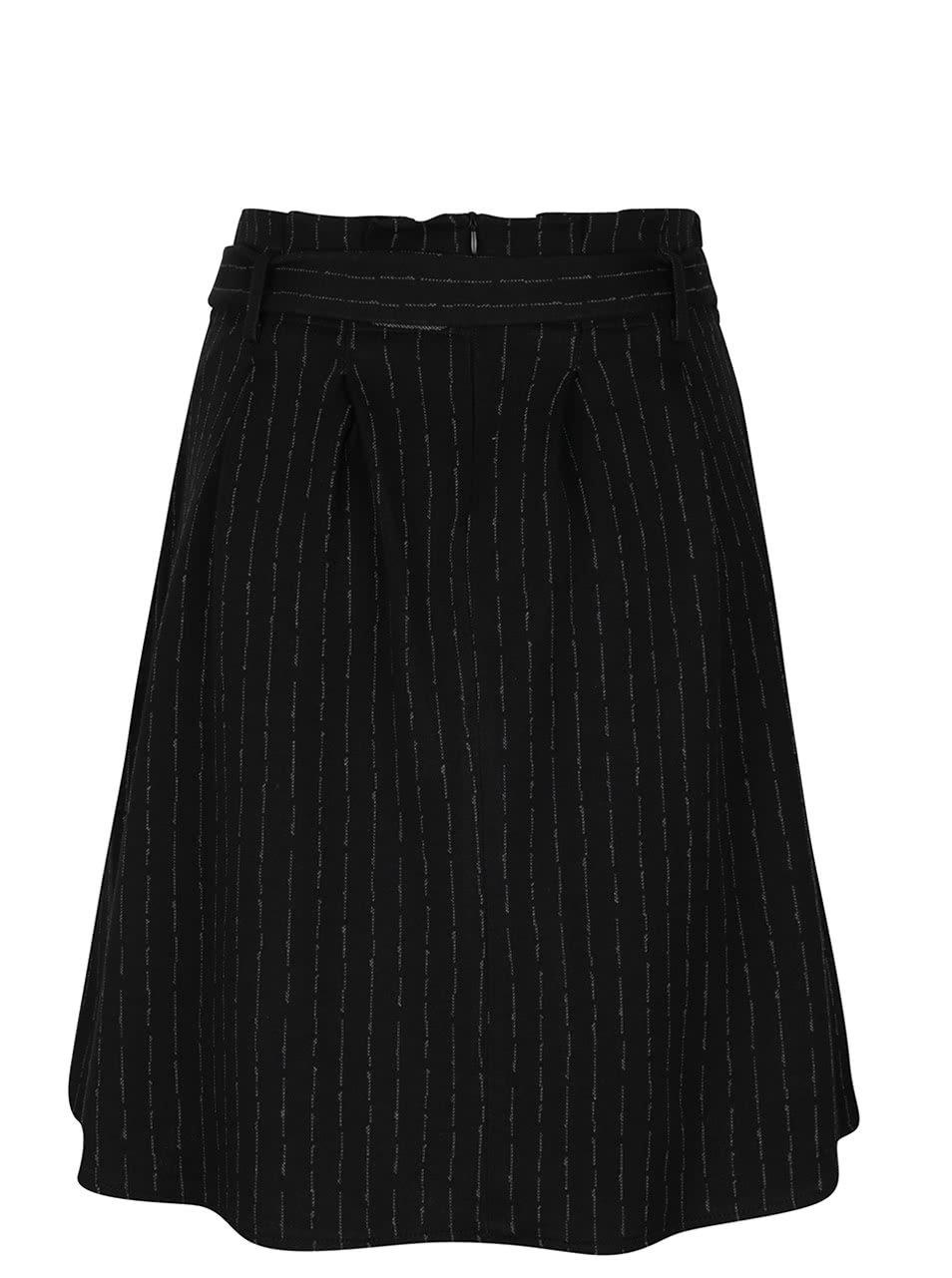Černá vzorovaná sukně se sklady Alchymi Robin ... 948974cb2e