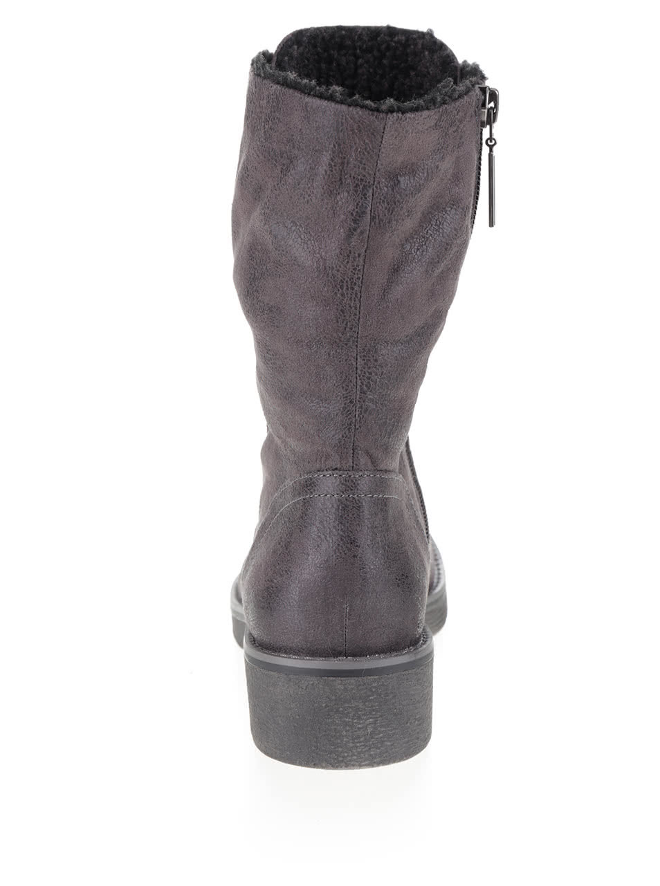 7fbabfe4894d4 Tmavosivé členkové topánky s.Oliver | ZOOT.sk