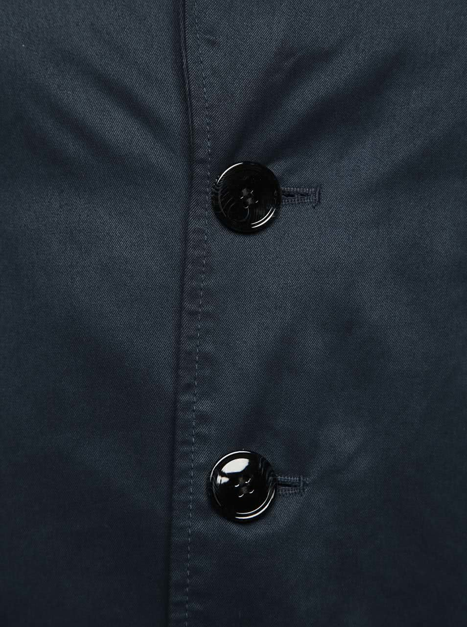 Tmavomodrý kabát Selected Homme New Adams ... dd7b18e2879