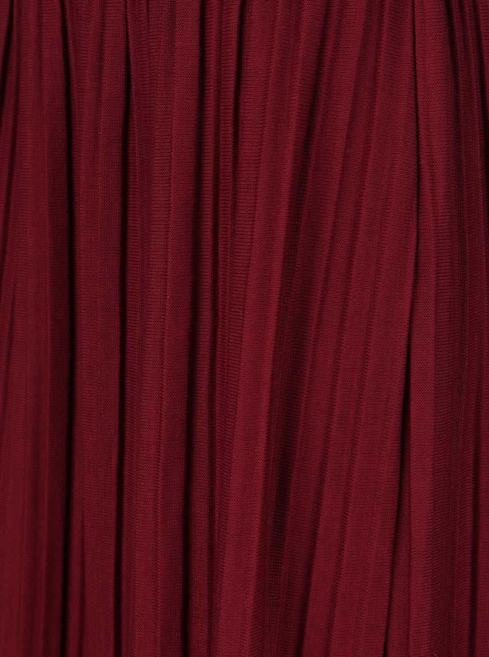 Vínová plisovaná sukně Alchymi Anya ... 7b2cc37204