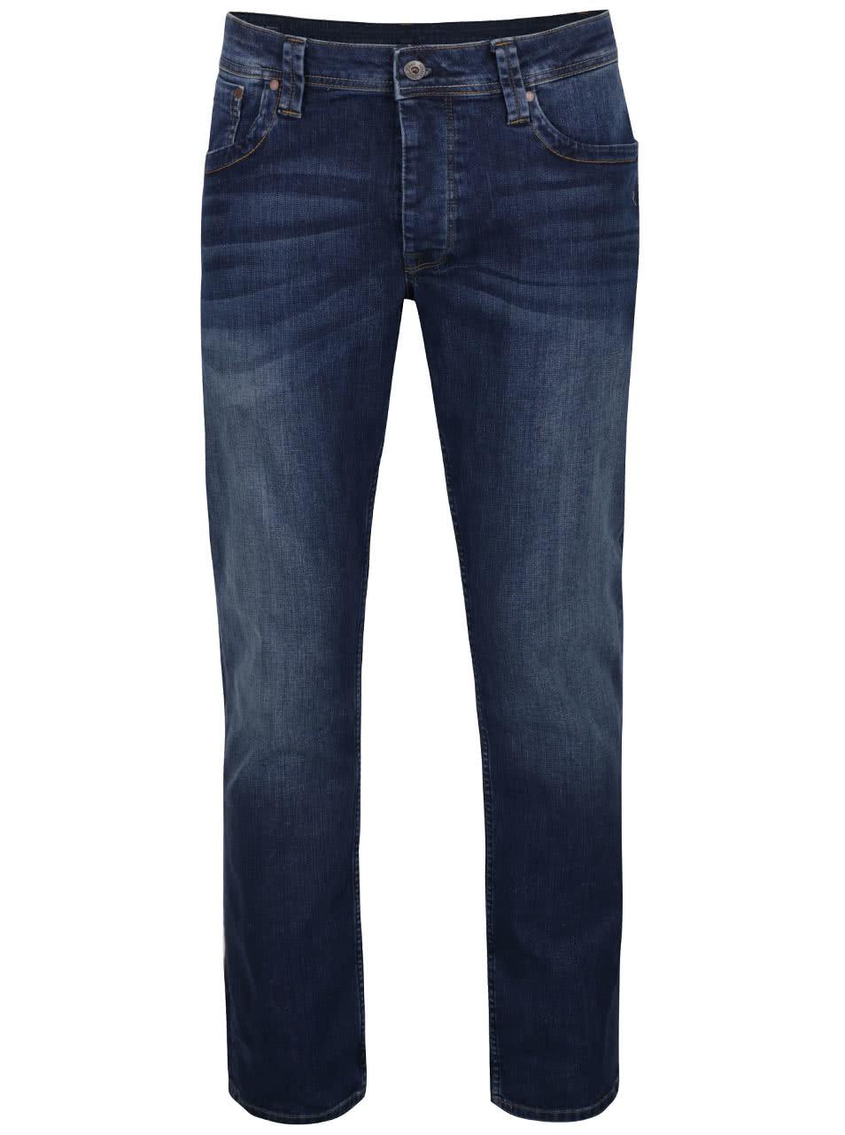 Tmavě modré pánské džíny Pepe Jeans Cash ... ba67dd2311