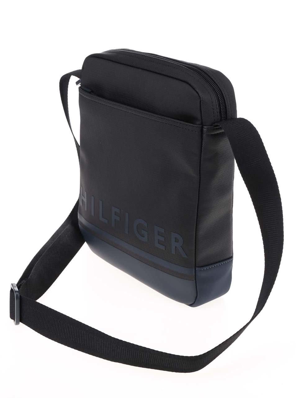 Černá pánská taška přes rameno Tommy Hilfiger ... 04c363609b3
