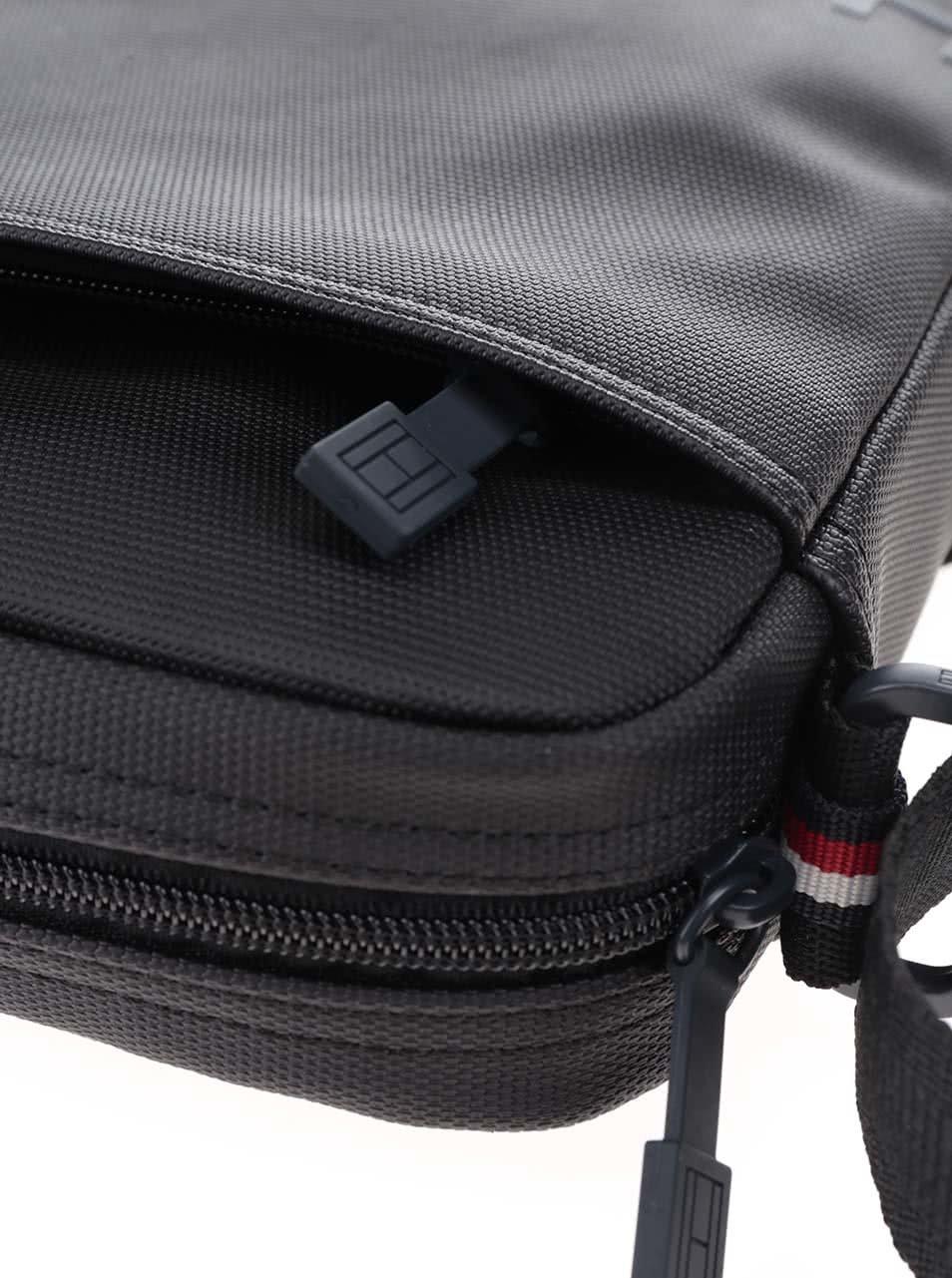 Čierna pánska taška cez rameno Tommy Hilfiger ... ebefc88f2b
