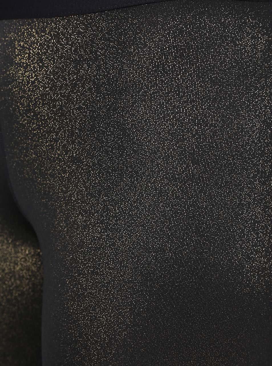 Dámské 3 4 legíny ve zlato-černé barvě Nike Pro Cool Capri ... 659bce64a2