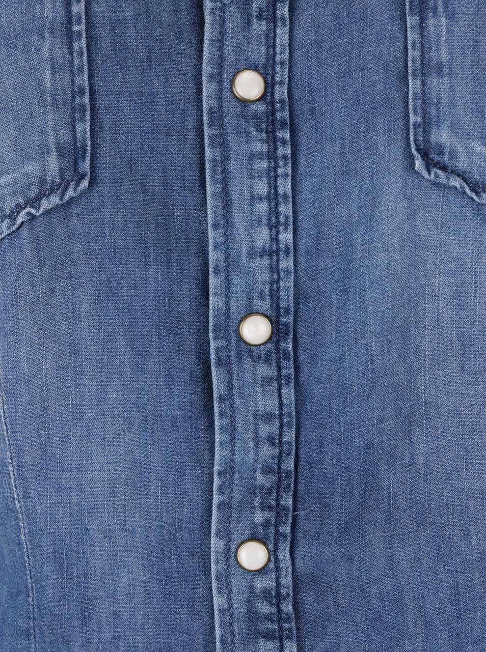 59cca038d06 Modrá dámská džínová košile Pepe Jeans Rosie ...