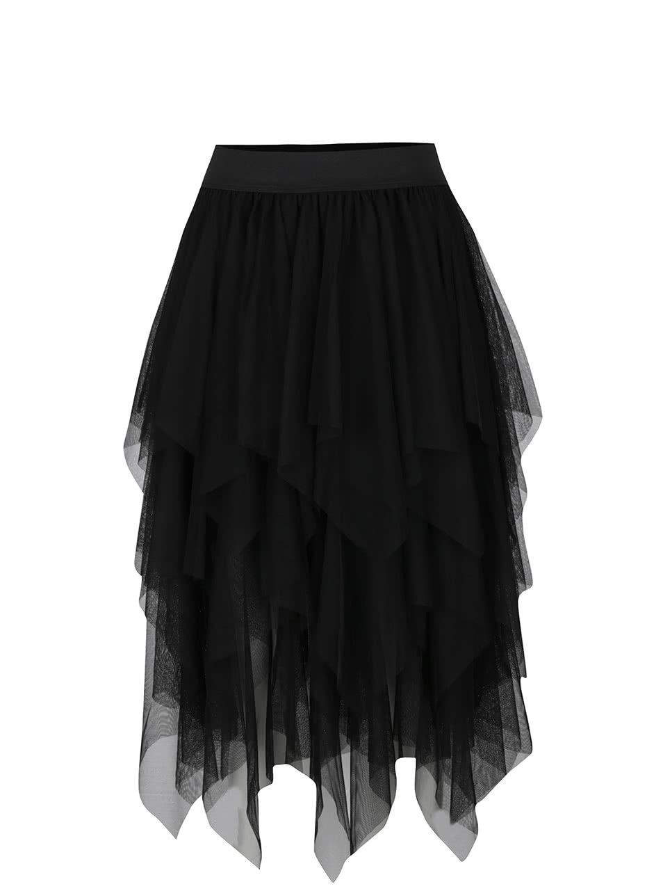 bf9cdc6e3719 Čierna tylová sukňa Moda Tulle ...