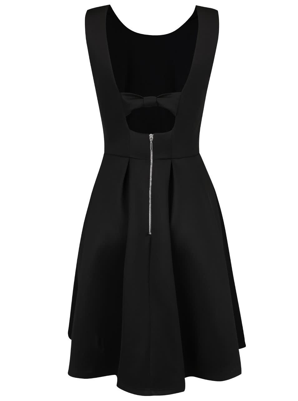 bda45867c98e Černé lesklé šaty Dorothy Perkins ...