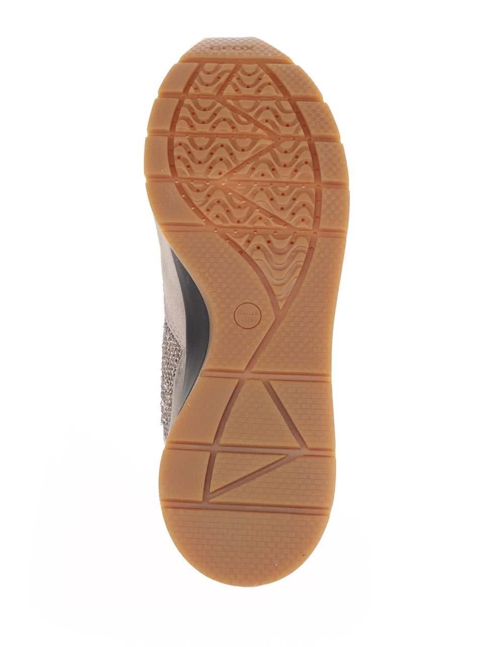 277b5ff0e85 Krémovo-béžové dámske tenisky so semišovými detailmi Geox Shahira ...
