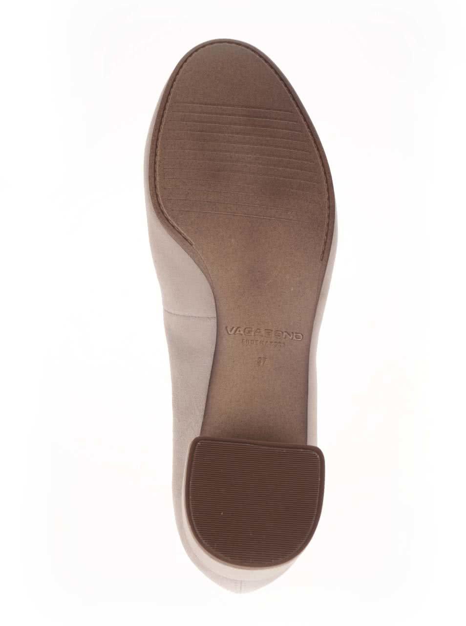 0144f561fb18 Béžové dámske topánky na podpätku Vagabond Jamilla ...