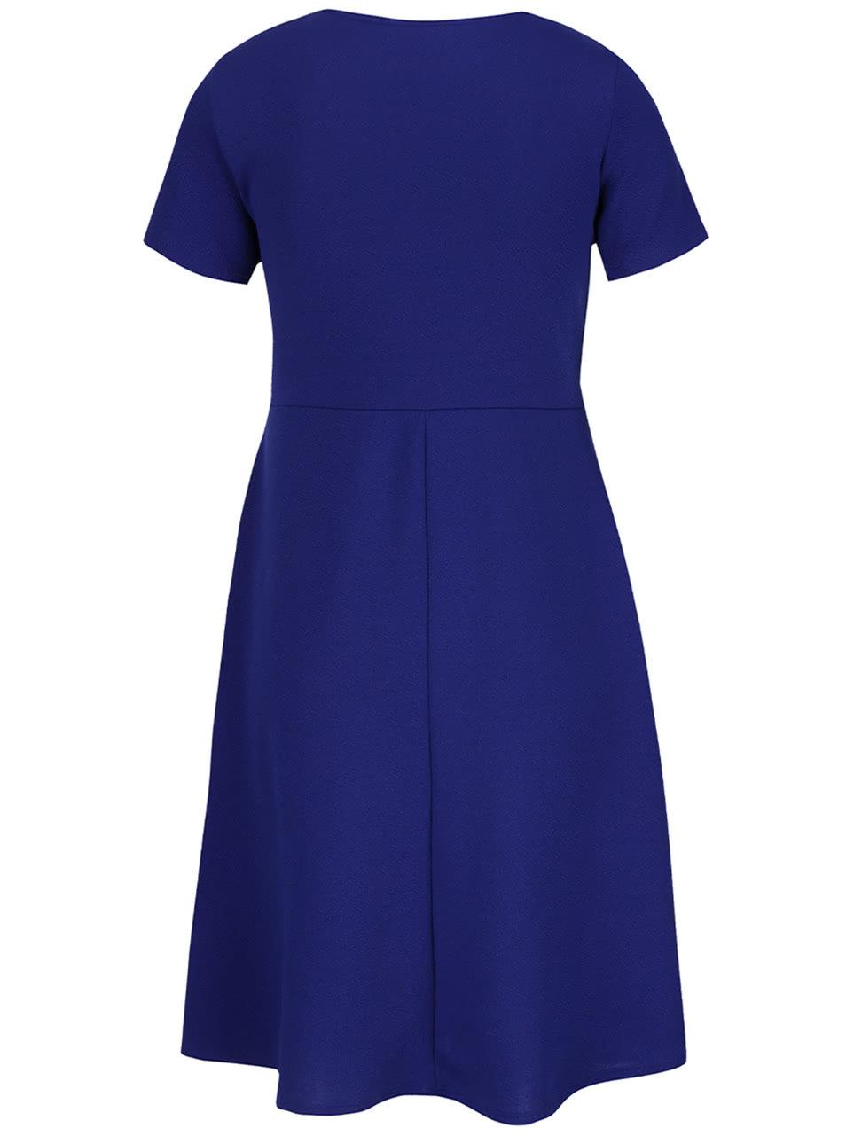 2f790d85f785 Modré tehotenské šaty s krátkym rukávom Dorothy Perkins Maternity ...