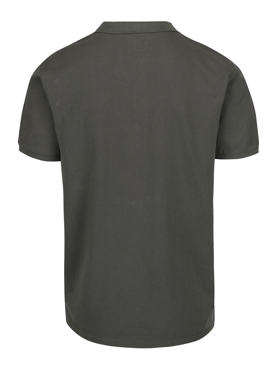 Khaki polo triko Shine Original ... 7dfa9a212d