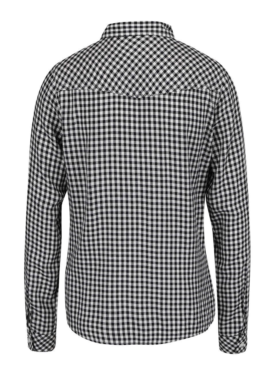 affc867564a3 Čierno-biela kockovaná košeľa TALLY WEiJL ...