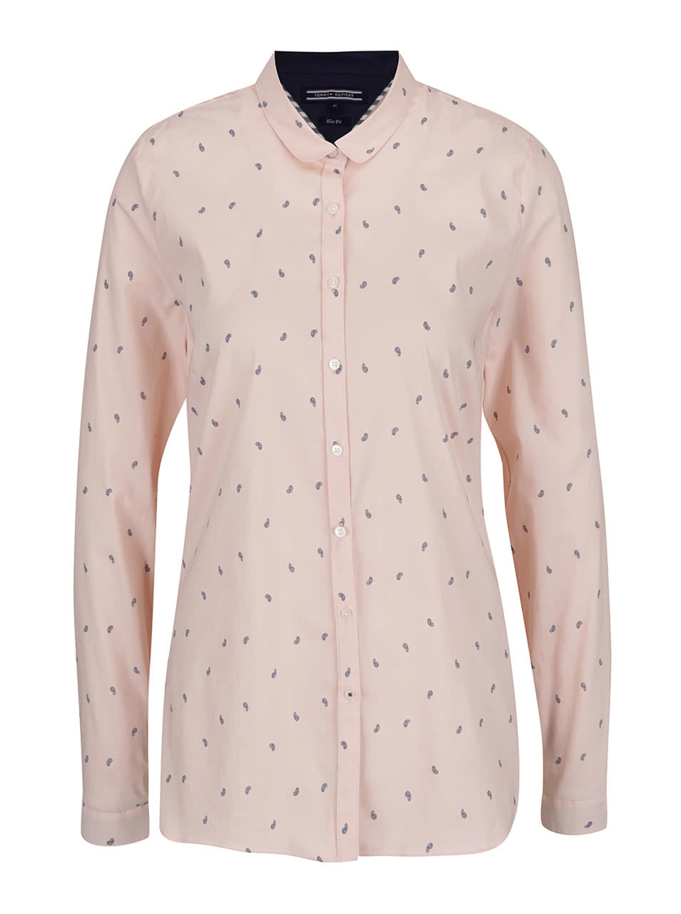 19f5e992fb8 Růžová dámská vzorovaná košile Tommy Hilfiger ...