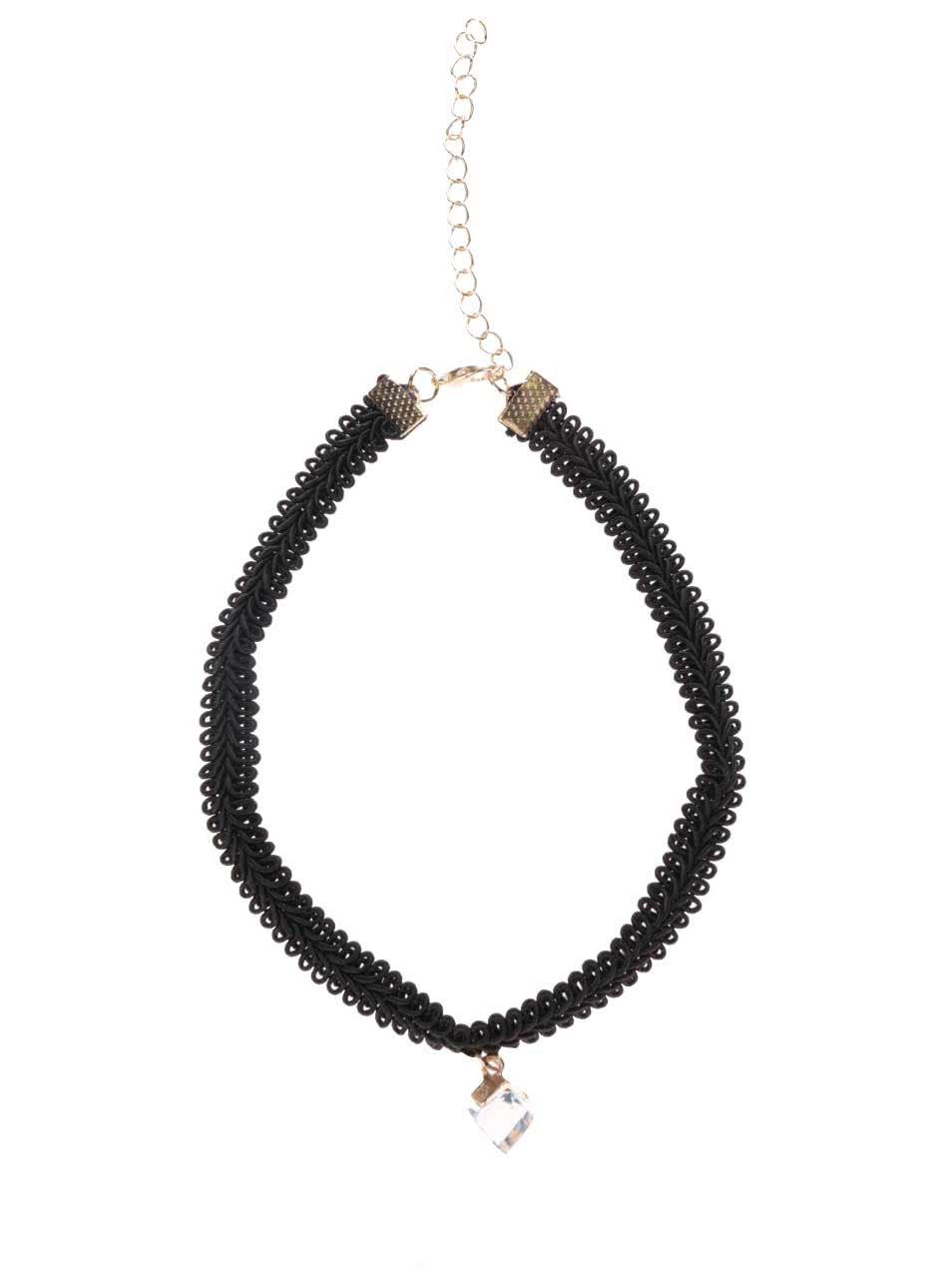 78972f36f Čierny náhrdelník s kamienkom Haily´s Choker | ZOOT.sk