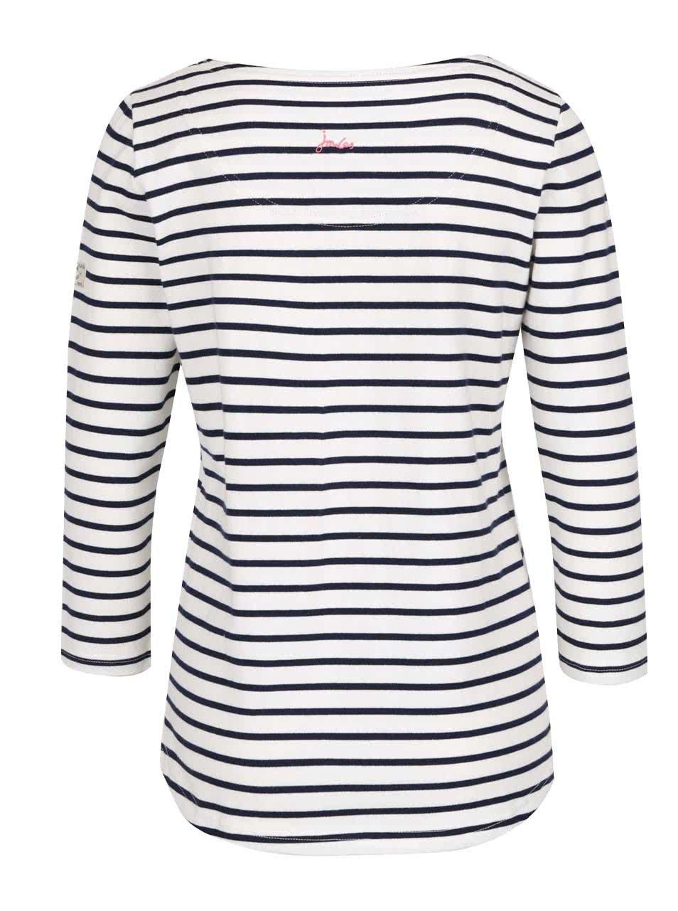 8696b482c6 Modro-krémové dámske pruhované tričko Tom Joule Harbour ...