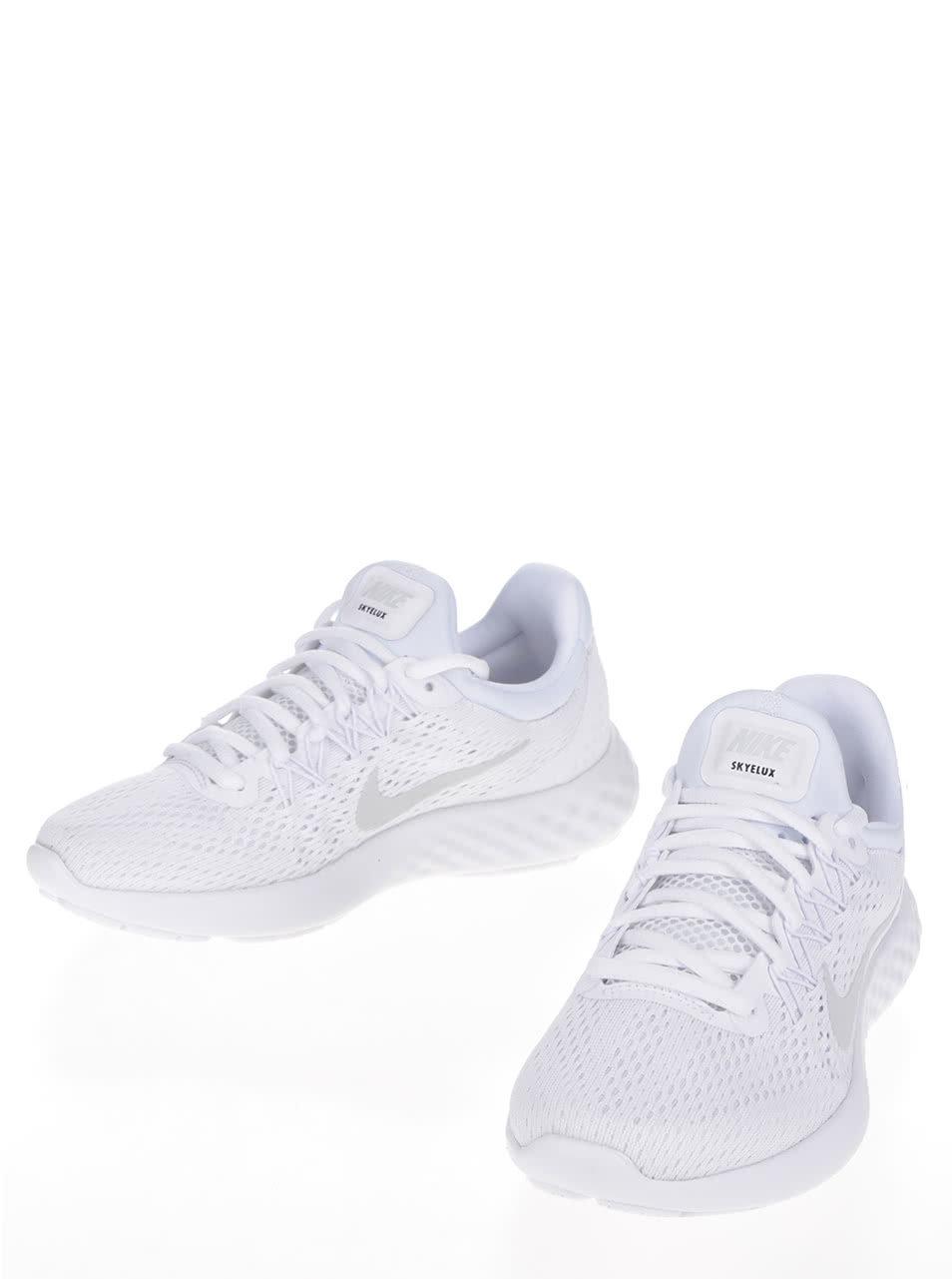 Biele dámske tenisky Nike Lunar Skyelux ... a361b078e71