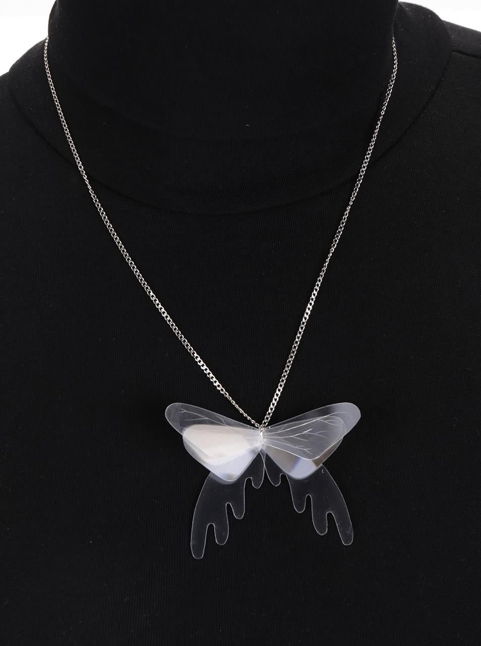 """""""Dobrý"""" průsvitný náhrdelník Trash Made Čaromůry pro Člověka v tísni"""