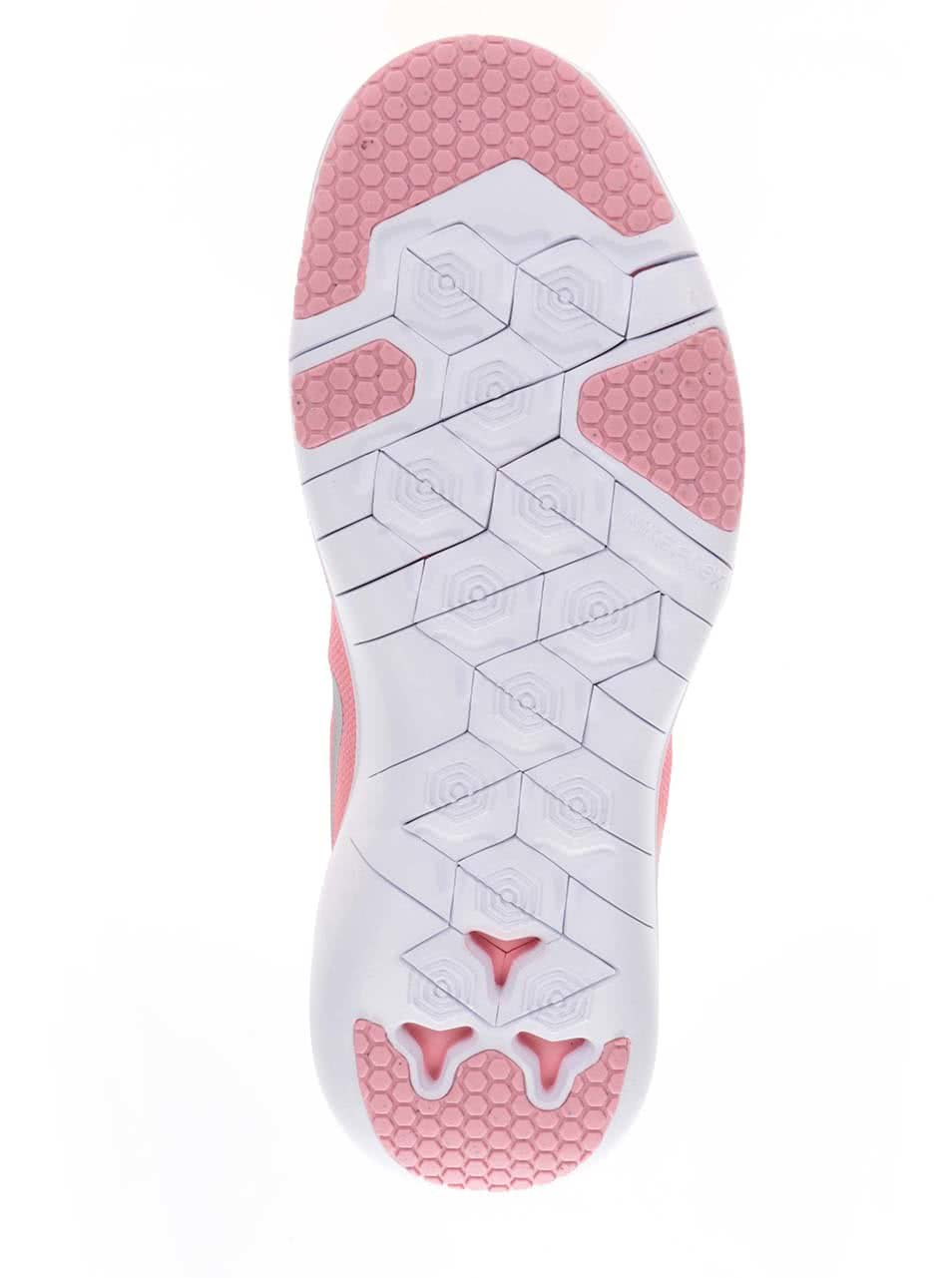 e7f4c61f8a4d4 Bielo-ružové dámske tenisky Nike Flex Supreme   ZOOT.sk